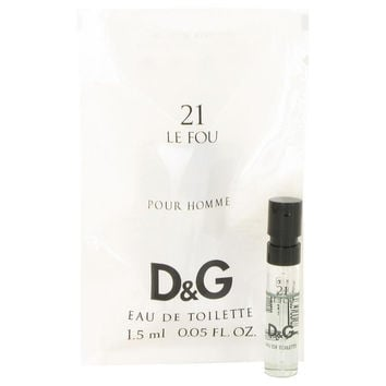 Le Fou 21 by Dolce & Gabbana Vial (Sample) .05 oz