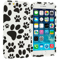 Dog Paw TPU Design Rubber Skin Case Cover for Apple iPhone 6 Plus 6S Plus (5.5)