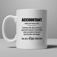 Accountant Gifts - Accountant Definition Coffee Mug