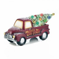 Lighted Christmas Truck Decor
