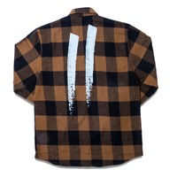 Signature Slash Heavyweight Flannel // Brown