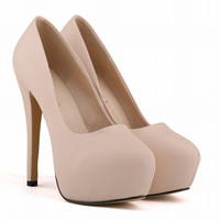 Fashion Club Bride Super High Heels Women's Shoes