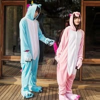 adult unicorn Onesuit blue pajamas adult costume pink for womens yellow halloween costumes for women rainbow men Pyjamas Pijama