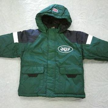 NEW YORK JETS RETRO STARTER FULL ZIP TODDLER JACKET