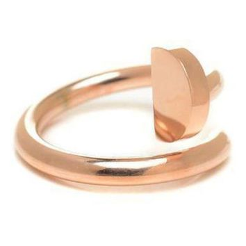 DCCKNQ2 Cartier Woman Fashion Plated Adjustable Ring For Best Gift-2