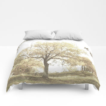 Autumn Trees Comforters by ARTbyJWP