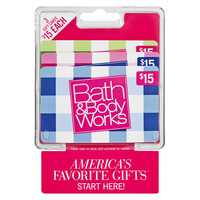 Bath & Body Works 3 Pack - $10 Gift Cards | Walgreens