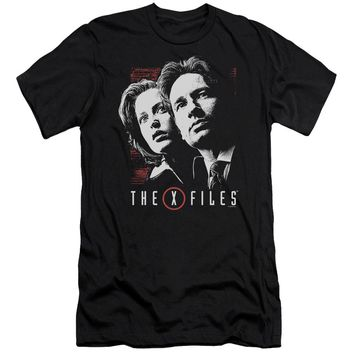 X Files - Mulder & Scully Short Sleeve Adult 30/1 Shirt Officially Licensed T-Shirt