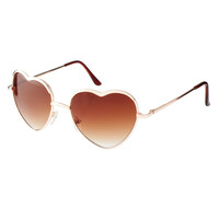 AJ Morgan | AJ Morgan Heart Of Glass Sunglasses at ASOS