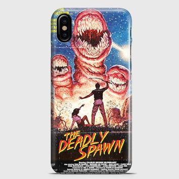 Deadly Spawn Vintage Horror iPhone X Case | casescraft