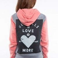Glamour Kills Clothing - Girls Young Love Zip Up Hoodie