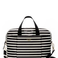 classic nylon stripe laptop commuter bag