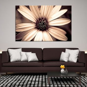 36273 - Extra Large Floral Canvas Print, Large Floral Wall Art, Flowers Print on Canvas, Extra Large Wall Art, Large Canvas Print, Interior Decor, Framed Wall Art, Housewarming Gift