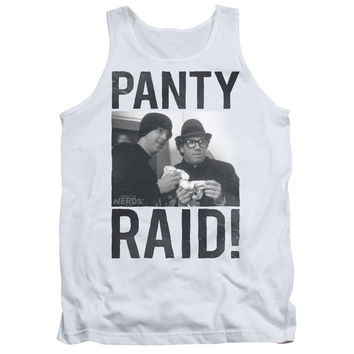 Revenge of the Nerds Panty Raid White 100% Cotton Tank-Top T-Shirt