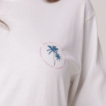 LIRA Palms Womens Tee