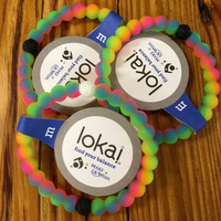 2016 lokai bracelet for balanced life all original tag clear neon red purple pink camo wild colors