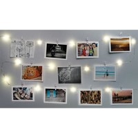Merkury Innovations | 15 ft. Firefly Photo Clip Lights - Silver | Nordstrom Rack