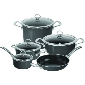 Chantal Copper Fusion Cookware Set (9 Pc.)