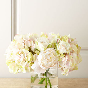 John-Richard Collection Amour Pastel Faux Flowers
