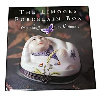 BOOK-THE LIMOGES PORCELAIN BOOK LIMOGES BOXES