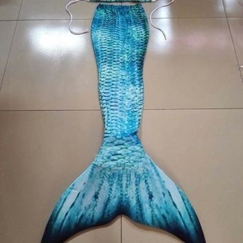 Ariel Mermaid tail Girls Kids/Children Adult Women Mermaid Tail With Monofin Summer Beach Vacation Photos Props Cospaly Costumes