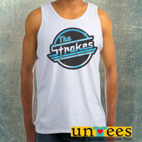 The Strokes Band Logo Clothing Tank Top For Mens