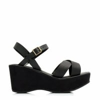 Crossroad Platform Wedges