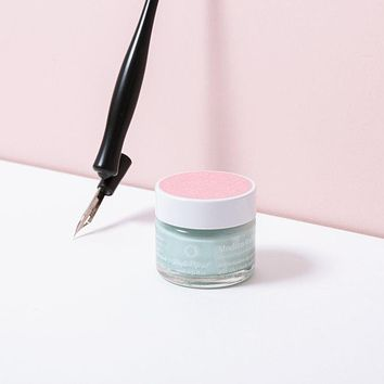 Pale Mint Calligraphy Ink
