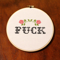 F*CK Cross Stitch (MATURE)
