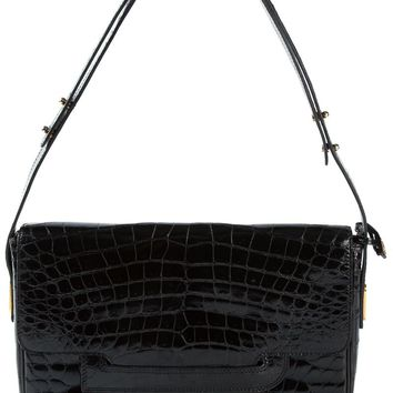 Delvaux Vintage varnished shoulder bag