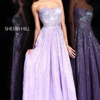 Sherri Hill 8437 at Prom Dress Shop