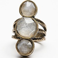 Free People Womens Senna Crystal Ring