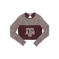 Texas A&M University Terry Crop Top