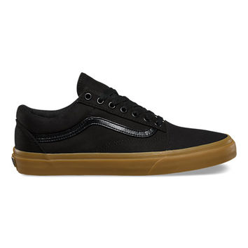Mens Bedroom Shoe With Gum Rubber Sole