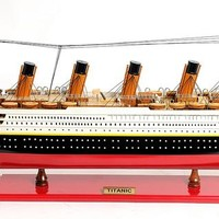 Titanic Painted Medium Hancrafted Cruise Ships Models