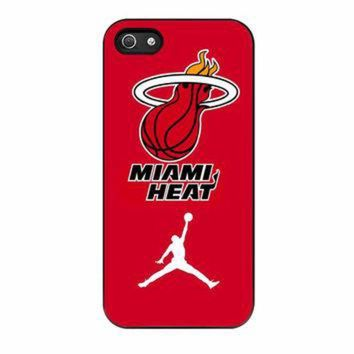 DCKL9 Miami Heat With Nike Jordan iPhone 5s Case