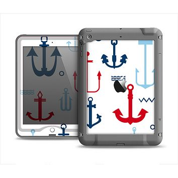The Various Anchor Colored Icons Apple iPad Mini LifeProof Nuud Case Skin Set