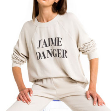 J'Aime Danger Sommers Sweater - Wildfox