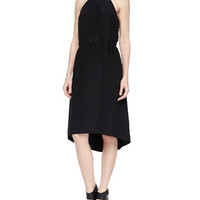 Joie Florilege Halter High-Low Dress