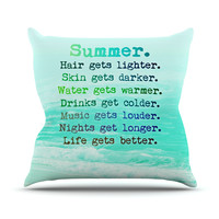 "Monika Strigel ""Summer XXL"" Throw Pillow"