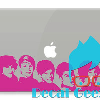 One Direction Wall Decor Banner Vinyl Decal Locker or by DecalGeex