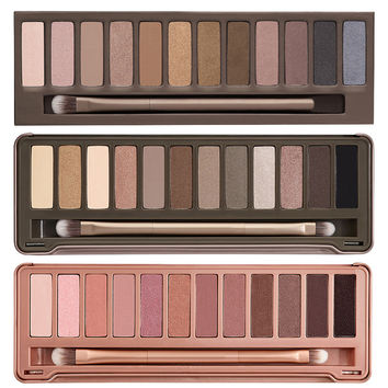 NAKE Makeup set 12 Colors eyeshadow palette NK 1 2 3 eyeshadow palettes Matte eyeshadow NK SMOKY eyeshadow with brush
