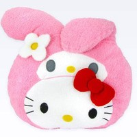 My Melody Face Cushion: Hello Friends