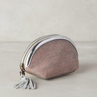 Jasper & Jeera Navarino Cosmetic Case in Pink Size: One Size Accessories