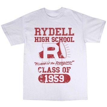 Rydell High School Class of 1959 T-Shirt - Grey or White