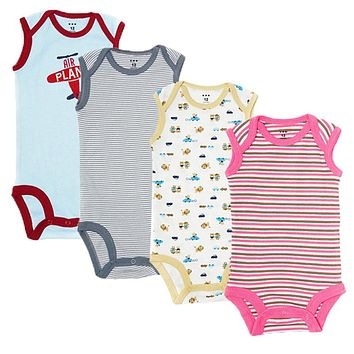 Newborn Baby Clothes Cotton Baby Boy Clothes Infant Jumpsuits Baby Girl Clothing Sets