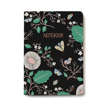 RED CAP CARDS MOTH MAGIC NOTEBOOK