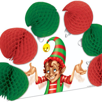"Winter/Christmas Elf Pop-Over Centerpiece - 10"""" Case Pack 12"