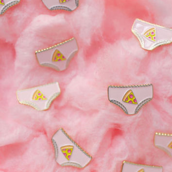 Enamel Pin / Lapel Pin - Pizza Panties