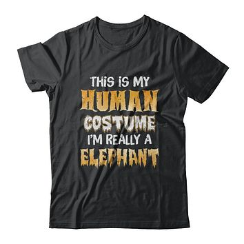 This Is My Human Costume Elephant Halloween